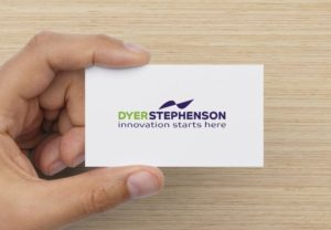 Dyer Stephenson Business Card by Secret Agency